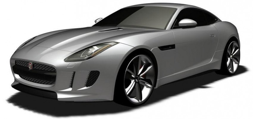 Jaguar F-Type Coupe in the works – patent filing done Image #172667