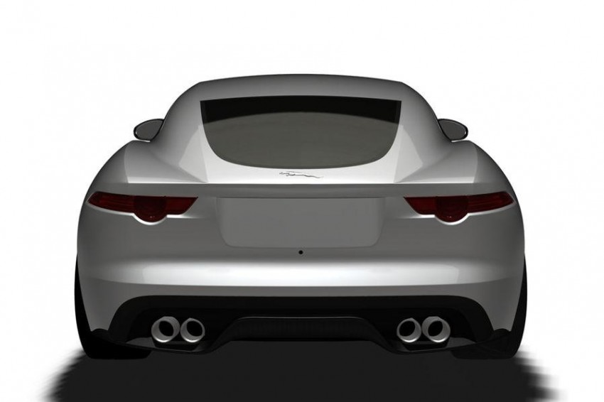 Jaguar F-Type Coupe in the works – patent filing done Image #172668