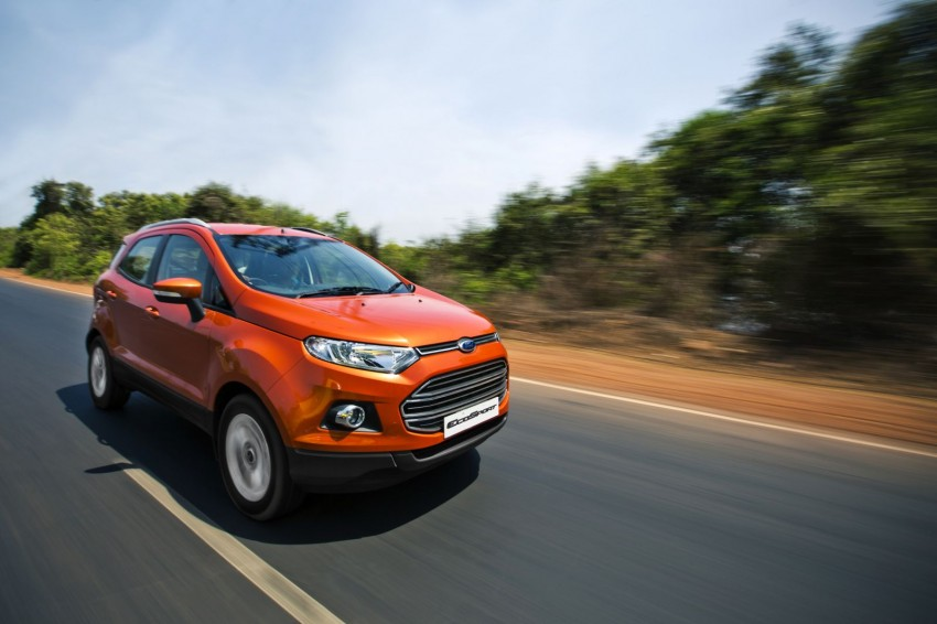 Ford EcoSport 1.0L EcoBoost: first impressions Image #174007