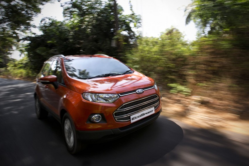 Ford EcoSport 1.0L EcoBoost: first impressions Image #174009