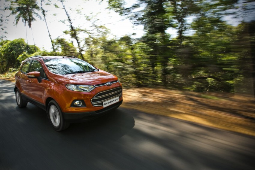 Ford EcoSport 1.0L EcoBoost: first impressions Image #174010