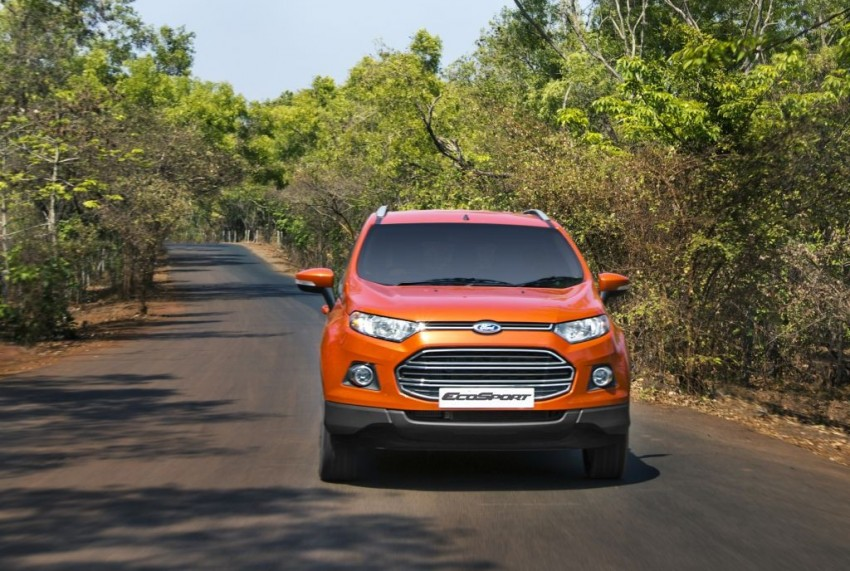 Ford EcoSport 1.0L EcoBoost: first impressions Image #174011