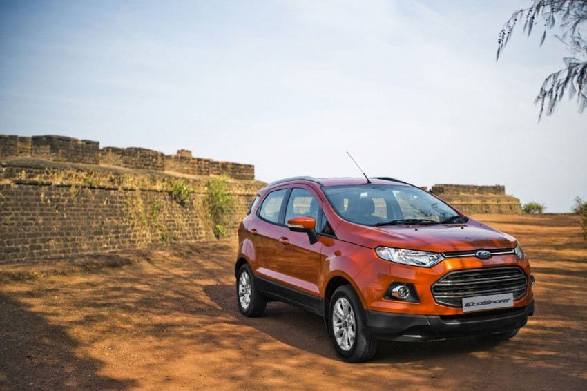 Ford EcoSport 1.0L EcoBoost: first impressions Image #174012