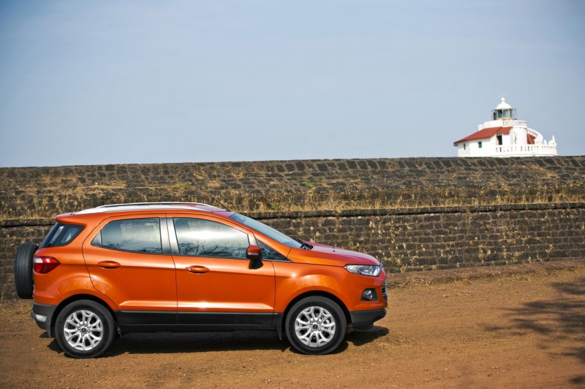 Ford EcoSport 1.0L EcoBoost: first impressions Image #174013