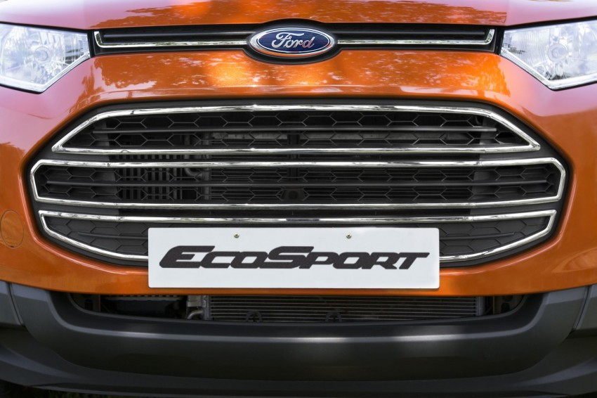 Ford EcoSport 1.0L EcoBoost: first impressions Image #174000