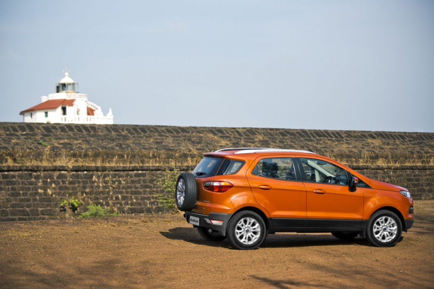 Ford EcoSport 1.0L EcoBoost: first impressions Image #174015