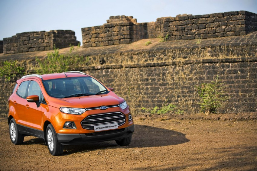 Ford EcoSport 1.0L EcoBoost: first impressions Image #174016