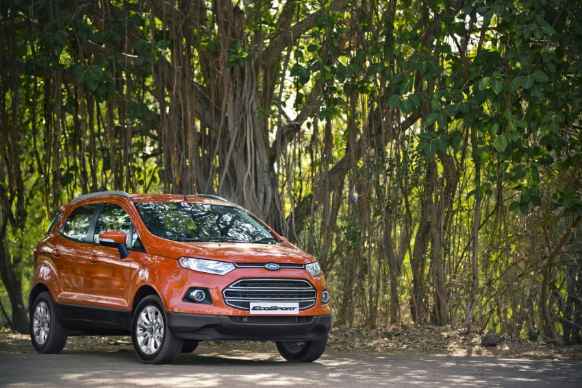 Ford EcoSport 1.0L EcoBoost: first impressions Image #174017