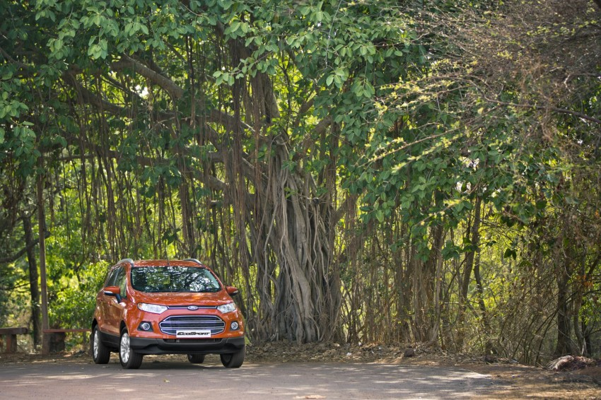Ford EcoSport 1.0L EcoBoost: first impressions Image #174018
