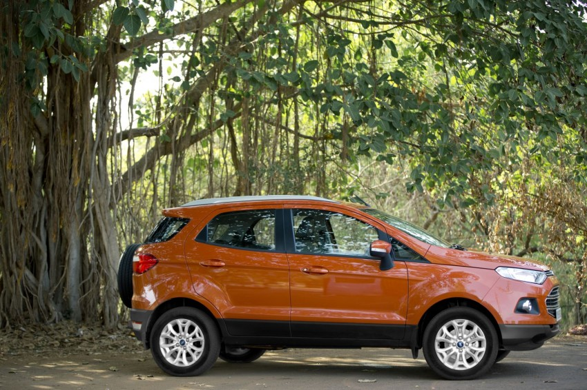 Ford EcoSport 1.0L EcoBoost: first impressions Image #174019