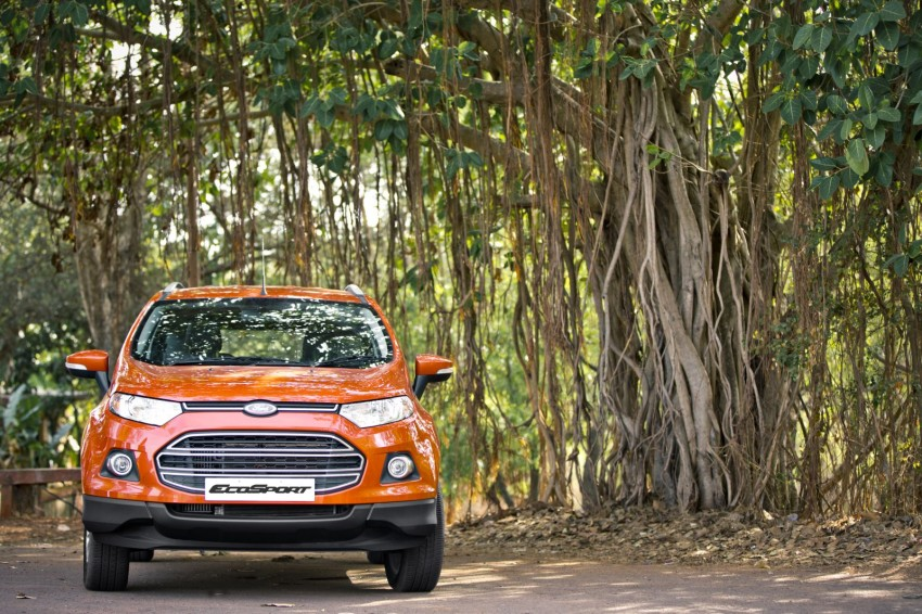 Ford EcoSport 1.0L EcoBoost: first impressions Image #174020
