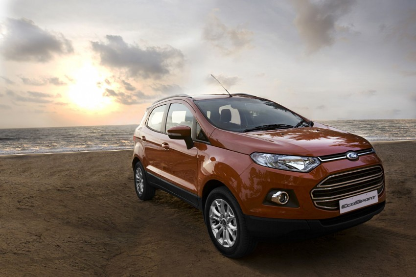 Ford EcoSport 1.0L EcoBoost: first impressions Image #174021