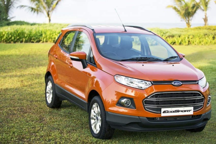 Ford EcoSport 1.0L EcoBoost: first impressions Image #174023