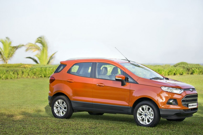 Ford EcoSport 1.0L EcoBoost: first impressions Image #174024