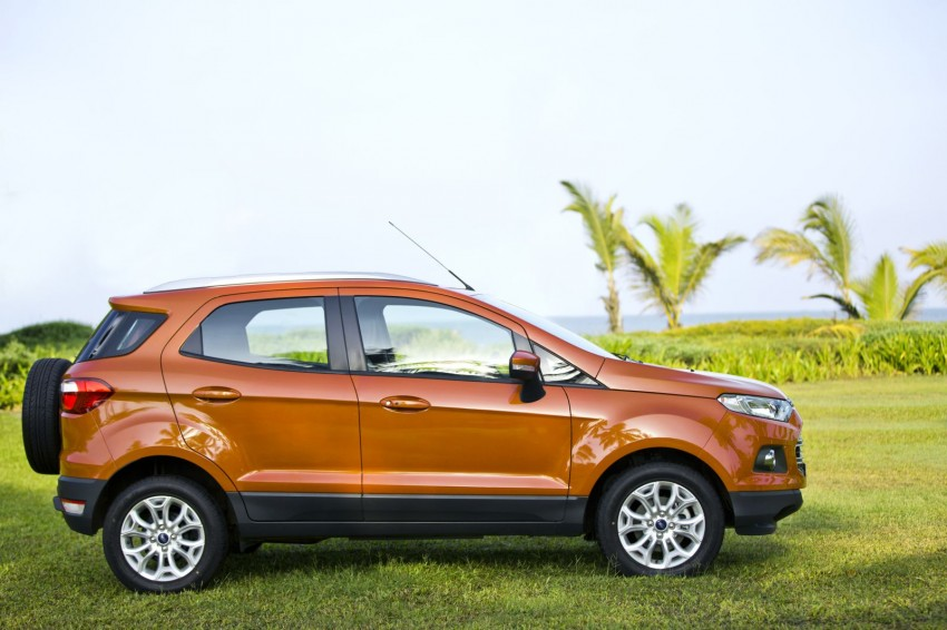 Ford EcoSport 1.0L EcoBoost: first impressions Image #174025
