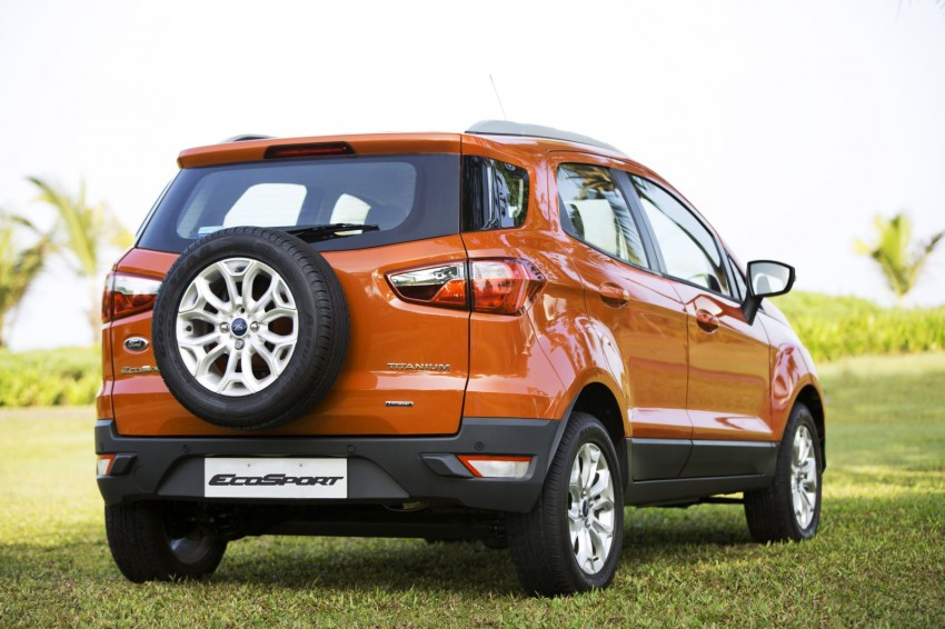 Ford EcoSport 1.0L EcoBoost: first impressions Image #174027