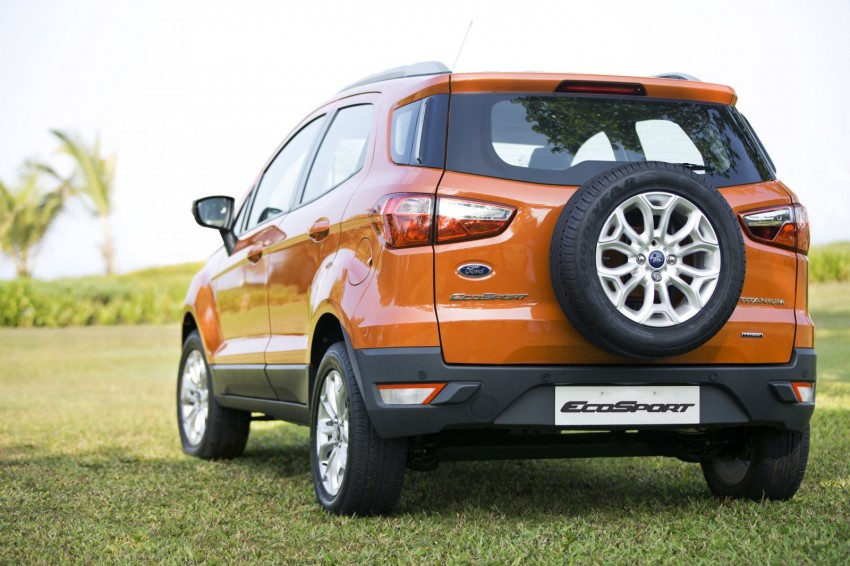 Ford EcoSport 1.0L EcoBoost: first impressions Image #174028