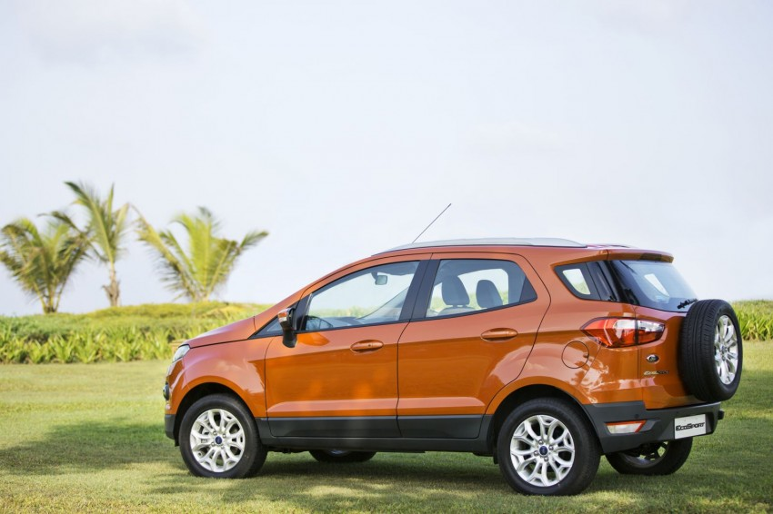Ford EcoSport 1.0L EcoBoost: first impressions Image #174029