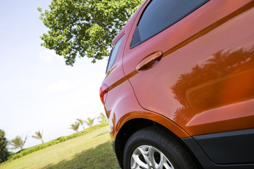 Ford EcoSport 1.0L EcoBoost: first impressions Image #174030