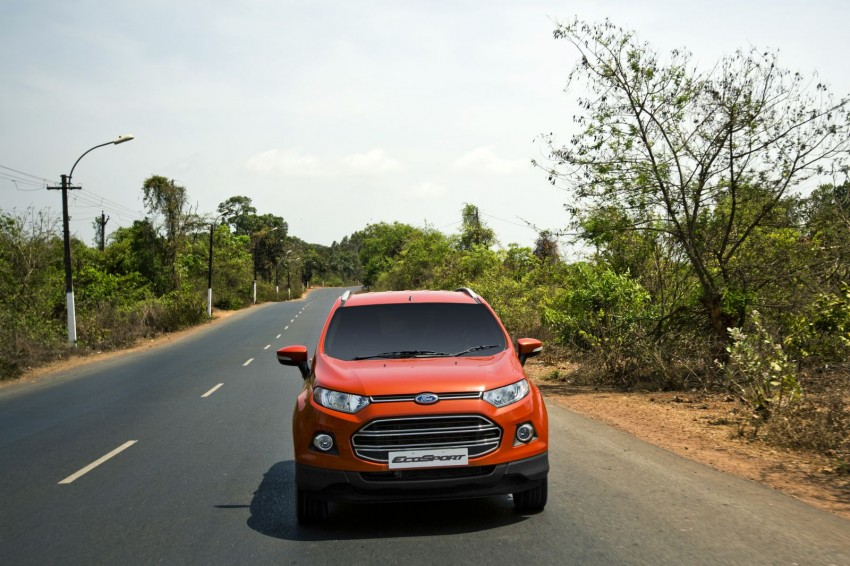 Ford EcoSport 1.0L EcoBoost: first impressions Image #174004
