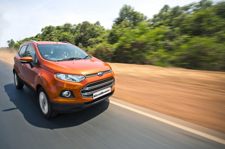 Ford EcoSport 1.0L EcoBoost: first impressions Image #174005