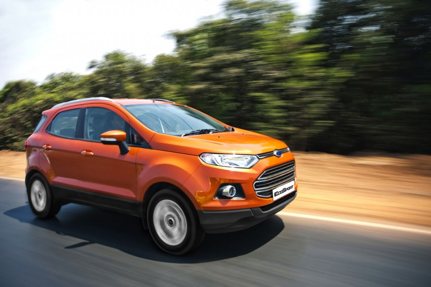 Ford EcoSport 1.0L EcoBoost: first impressions Image #174006