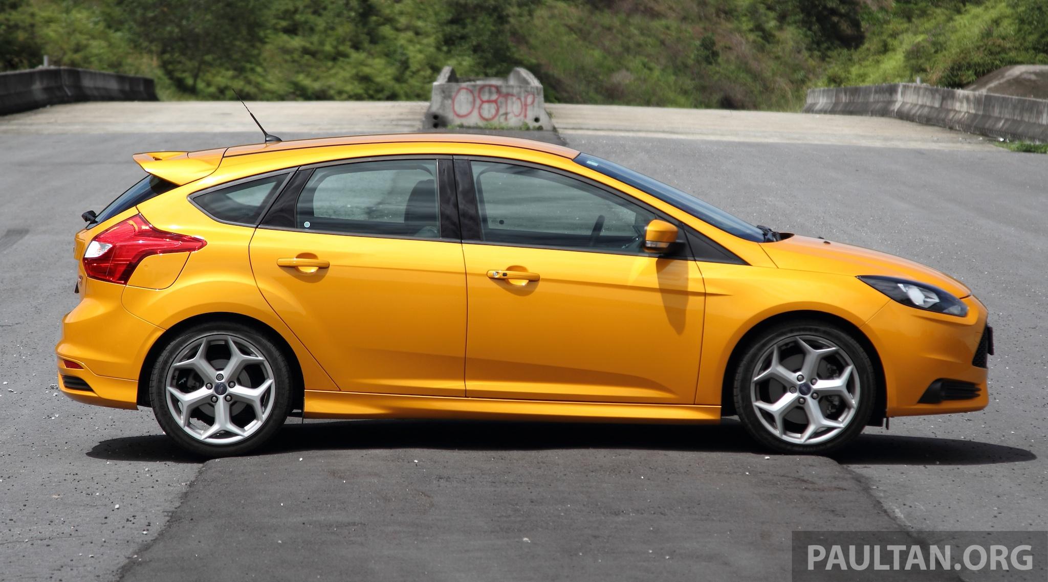 DRIVEN: Ford Focus ST – orange crush, anyone? Paul Tan - Image 177021