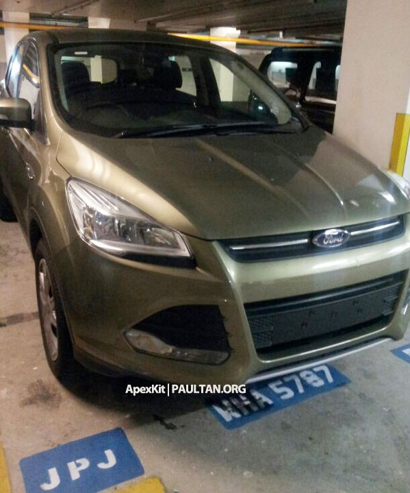 Ford Kuga – seen at 1U roadshow, also on test at JPJ Image #176421