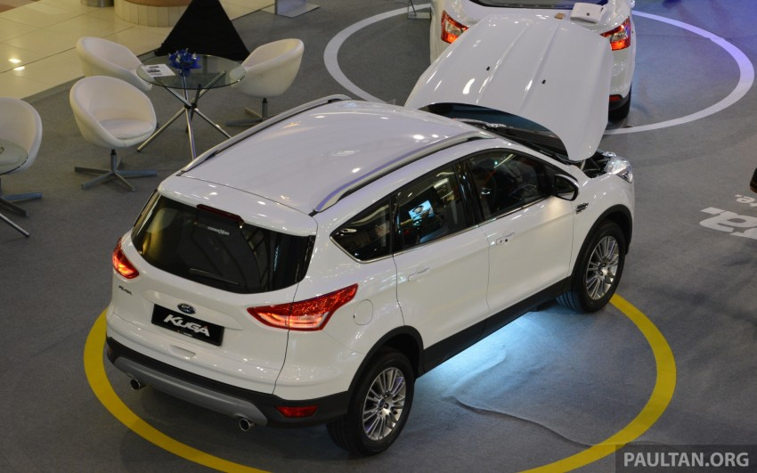 Ford Kuga – seen at 1U roadshow, also on test at JPJ Image #176435