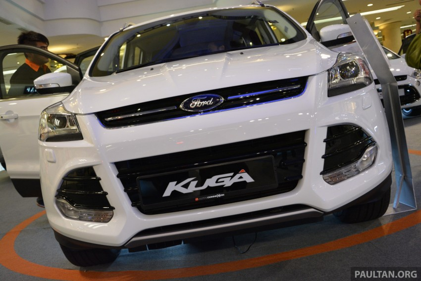 Ford Kuga – seen at 1U roadshow, also on test at JPJ Image #176426