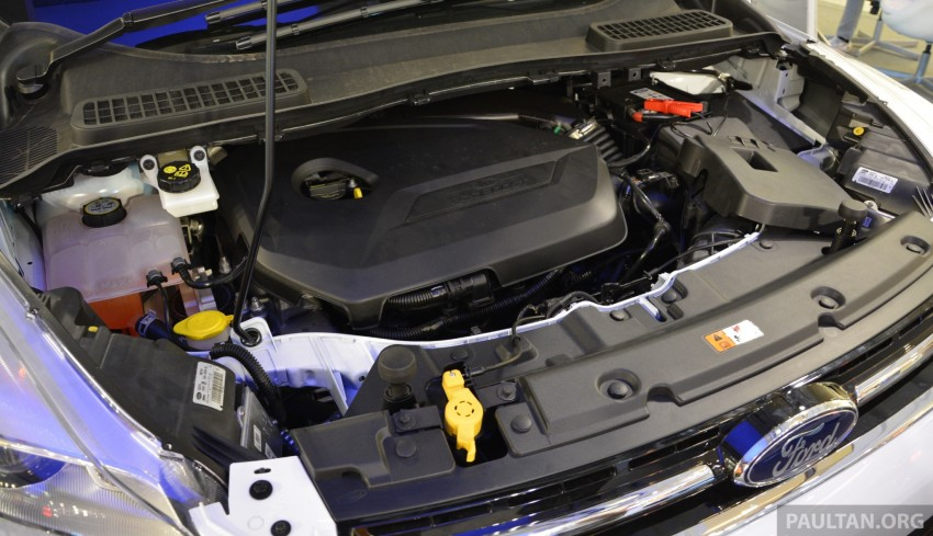 Ford Kuga – seen at 1U roadshow, also on test at JPJ Image #176434