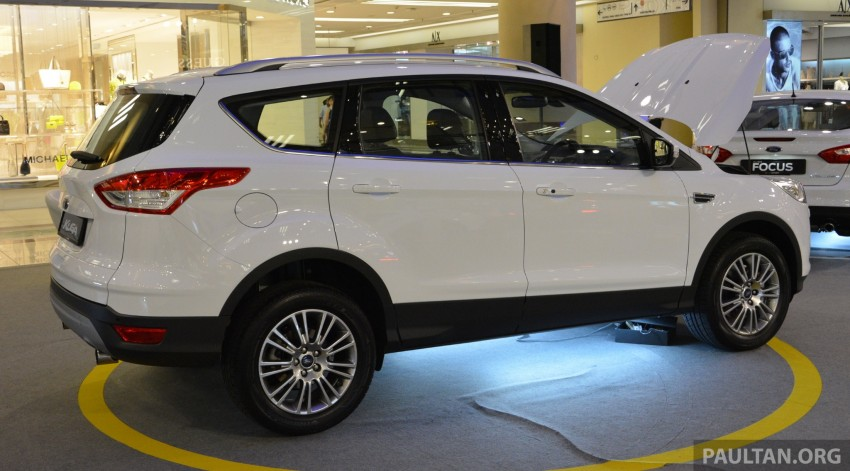 Ford Kuga – seen at 1U roadshow, also on test at JPJ Image #176429