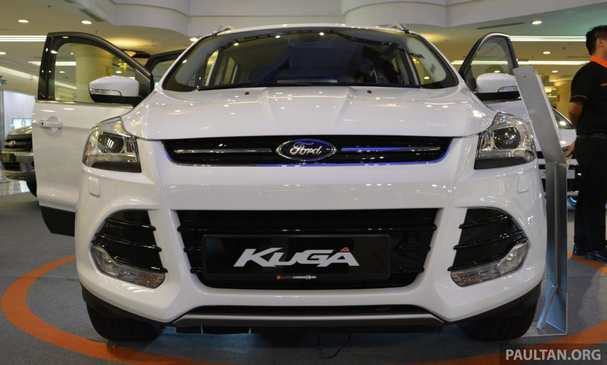 Ford Kuga – seen at 1U roadshow, also on test at JPJ Image #176427