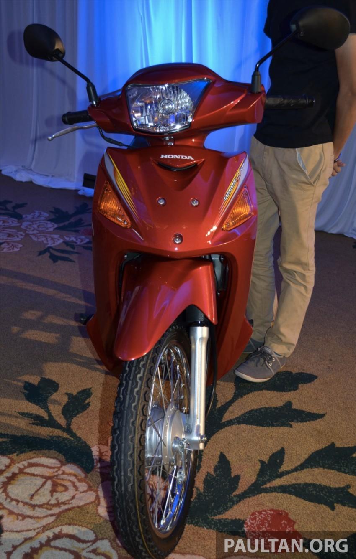 New Honda Wave 110 kapcai launched by Boon Siew Image #176728