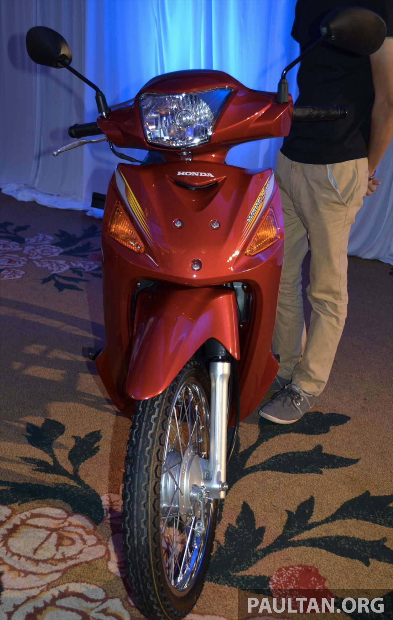 New Honda Wave 110 kapcai launched by Boon Siew