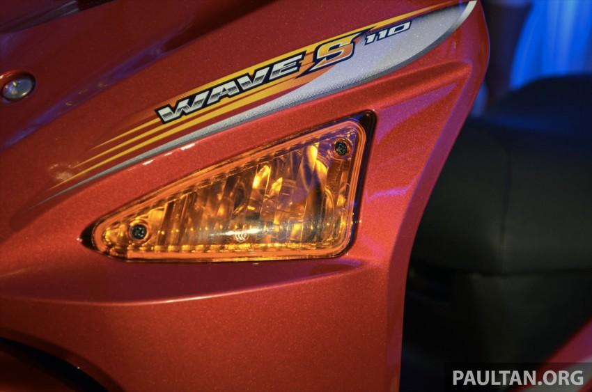 New Honda Wave 110 kapcai launched by Boon Siew Image #176731