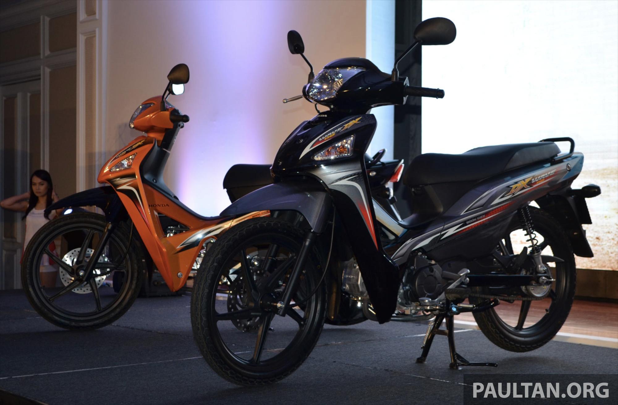 New Honda Wave 110 Kapcai Launched By Boon Siew Paul Tan