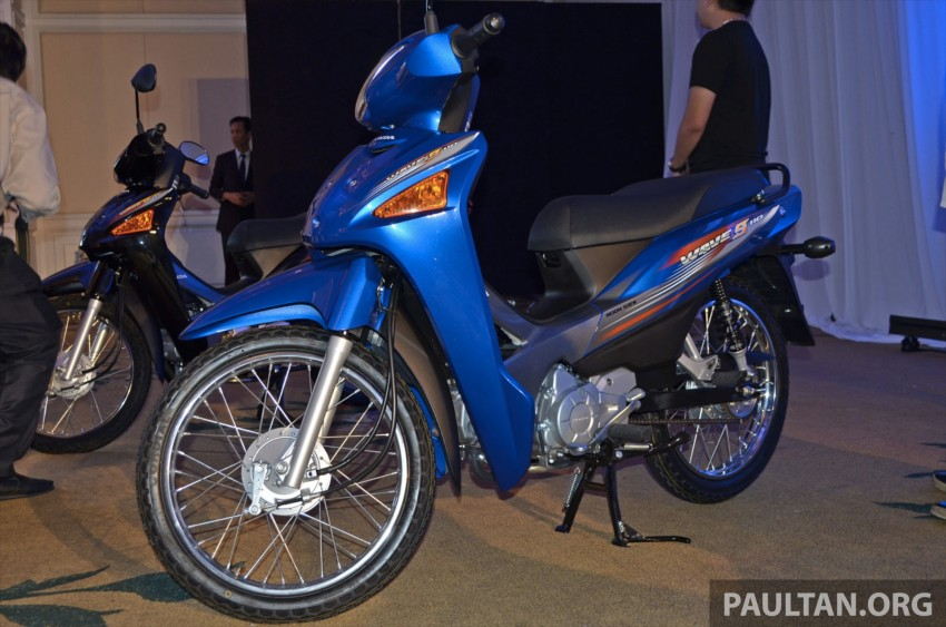 New Honda Wave 110 kapcai launched by Boon Siew Image #176732
