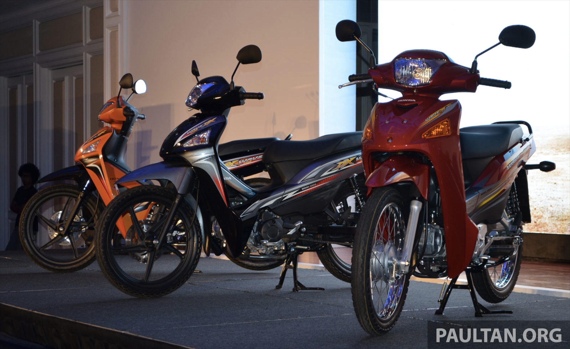 New Honda Wave 110 kapcai launched by Boon Siew