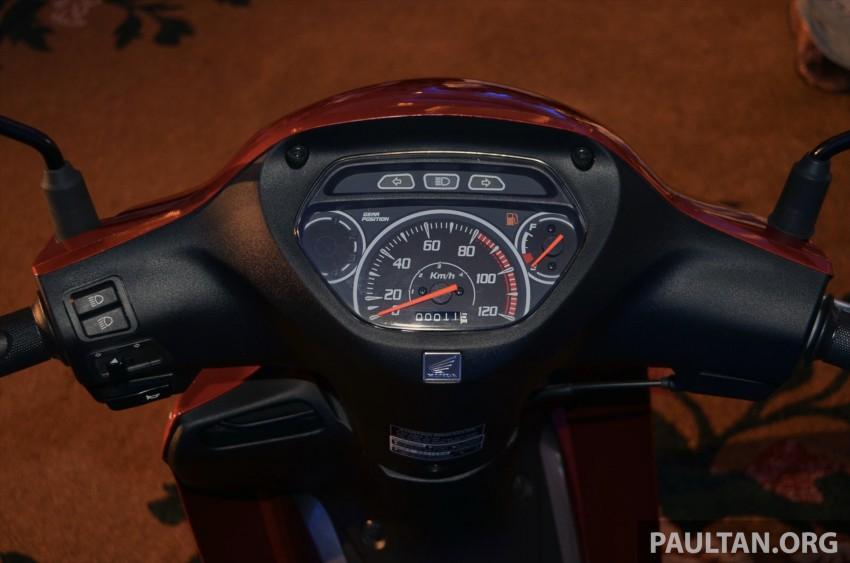 New Honda Wave 110 kapcai launched by Boon Siew Image #176736