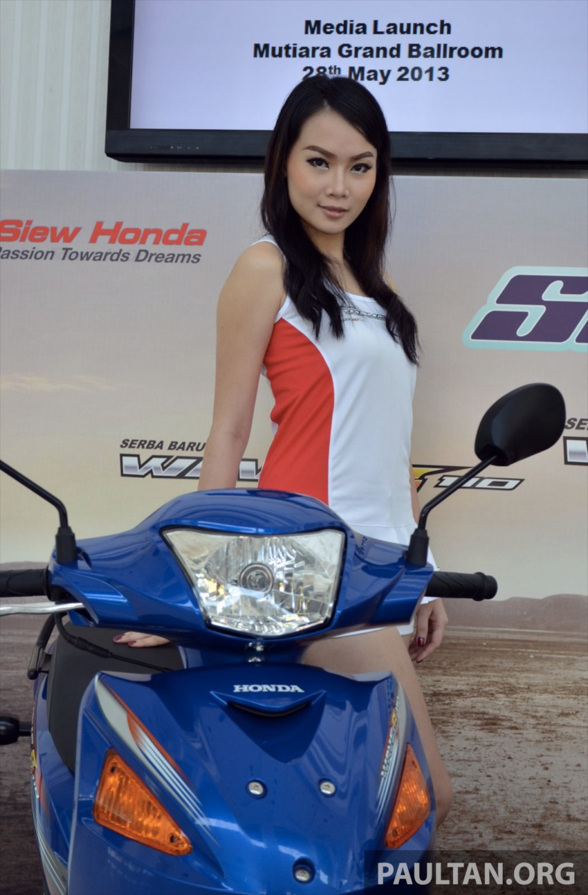 New Honda Wave 110 kapcai launched by Boon Siew Image #176739