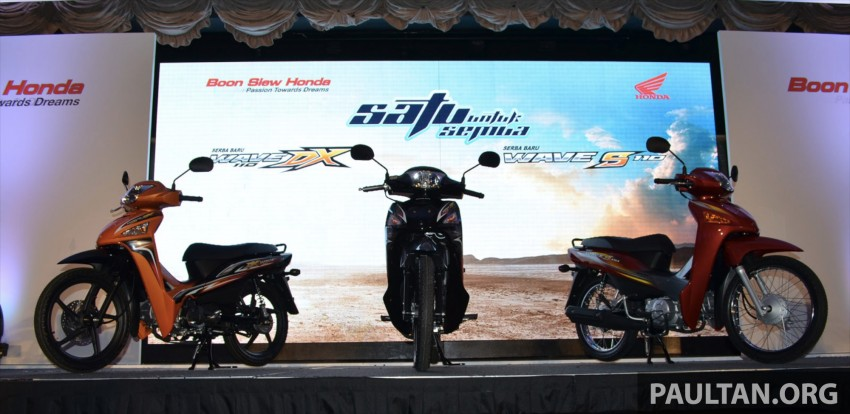New Honda Wave 110 kapcai launched by Boon Siew Image #176716
