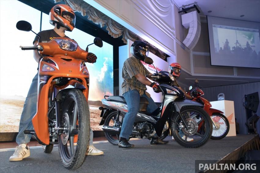 New Honda Wave 110 kapcai launched by Boon Siew Image #176717