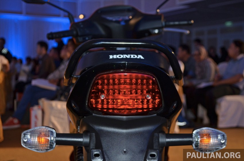 New Honda Wave 110 kapcai launched by Boon Siew Image #176721