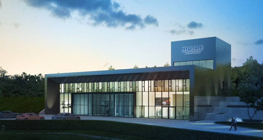 Hyundai test centre at the Nurburgring ready in August Image #177592