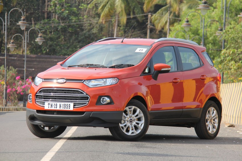 Ford EcoSport 1.0L EcoBoost: first impressions Image #173939