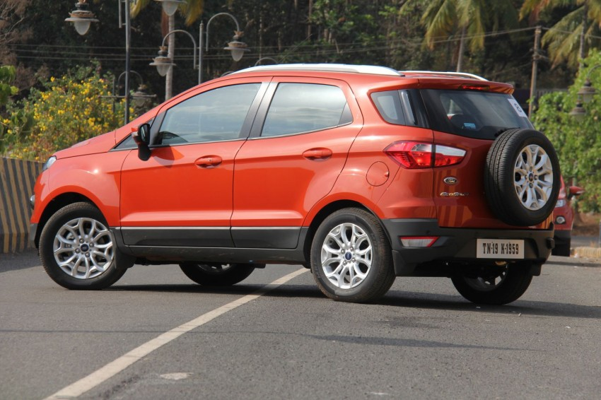 Ford EcoSport 1.0L EcoBoost: first impressions Image #173938