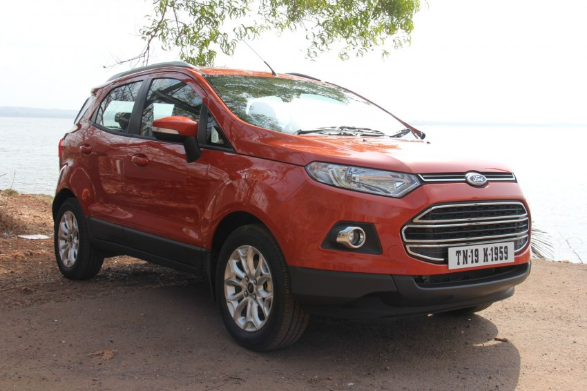 Ford EcoSport 1.0L EcoBoost: first impressions Image #173937