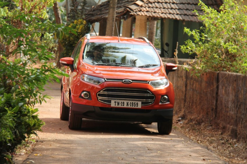 Ford EcoSport 1.0L EcoBoost: first impressions Image #173936