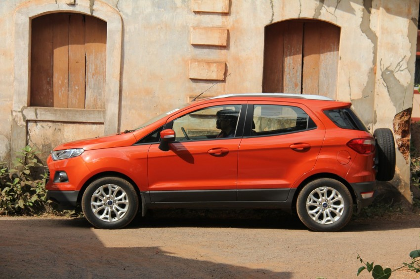 Ford EcoSport 1.0L EcoBoost: first impressions Image #173935